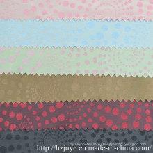 Ткань с подкладкой из жаккарда из полиэфирного вискозы