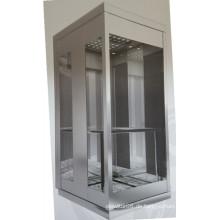Panorama-Aufzug mit hohem Gebäude und 18 Personen