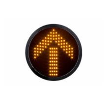 Módulo de semáforo de LED amarillo flecha de 300 mm y 12 pulgadas