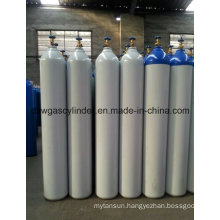 99.999% High Pressure Oxygen Gas Filled in 10L Cylinder