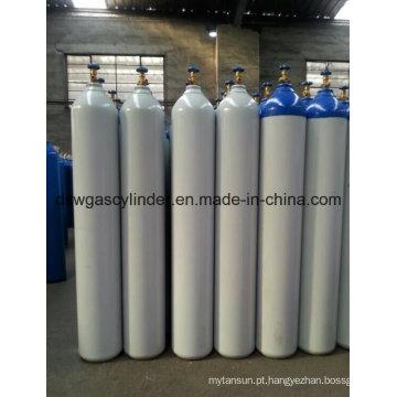 99,999% gás de oxigênio de alta pressão preenchido em 10L cilindro