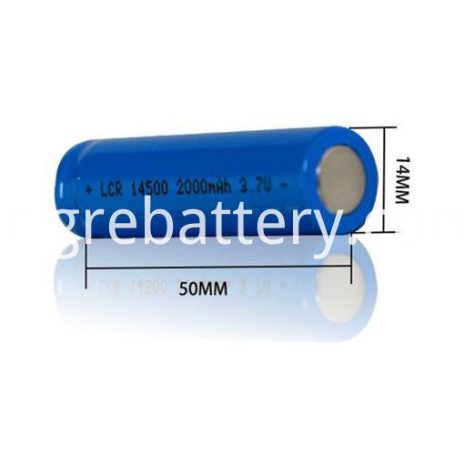 AA Battery Lithium Ion