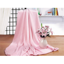 Solid Coral Fleece Blankets 200*240