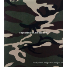 35%cotton 65%polyester camouflage fabric for uniform wholsale