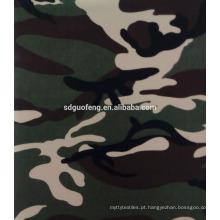 35% algodão 65% poliéster tecido de camuflagem para wholsale uniforme