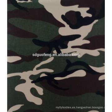 Tejido de camuflaje 35% algodón 65% poliéster para uniformes wholsale