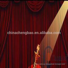 Decoración de la etapa de China cortinas hechas y cortinas
