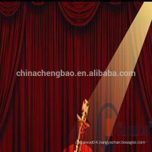 china stage decoration ready made drapes and curtains