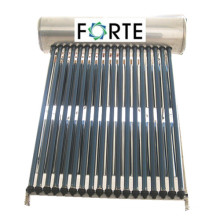 High Efficiency Non-Pressurized Solar Water Heater