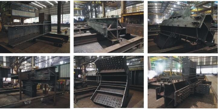 Structural heavy steel construction building stage # five for Xiangshanli Garden, Shenzhen pic two
