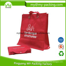 Custom Print PP Foldable Non Woven Promotional Shopping Bag