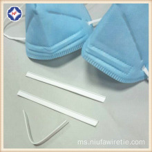 Plastik Double Wire Nose Wire Roll For Mask