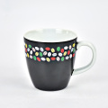 Household customized fashion coffee ceramic fashion travel mug