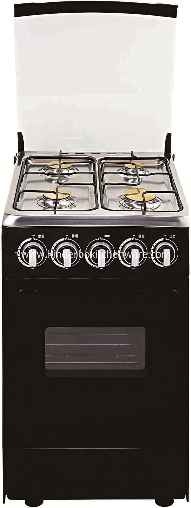 Freestanding Kitchen Gas Range Gas Stove With Oven 4 Burners Gas Stove