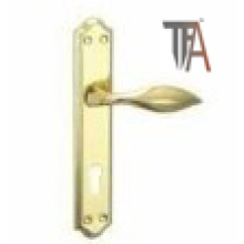 Gold Color Iron Material Door Handle for Home Decoration