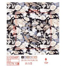 Tissu en lycra en nylon avec imprimé fleur