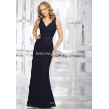 2017 горячее продавая высокое атласный пояс помахать-линии платье невесты KB1721541