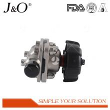 Nouvelles valves sanitaires de diaphragme d'acier inoxydable de style avec la soudure