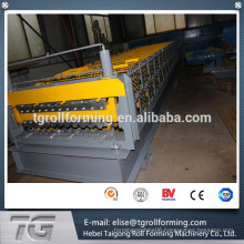 double layer wall and roof roll forming machine made in China with low price