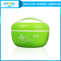 Cheap Custom Plastic Crisper Fresh Round Food Container for Kids