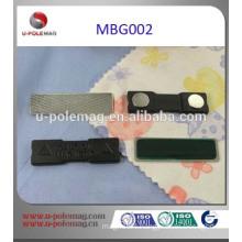 Custom made magnetic name badge