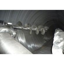 Mezclador cónico del doble-tornillo de la serie de DSH 2017, mezclador del trigo de los SS, amoladora horizontal de la licuadora seca mojada