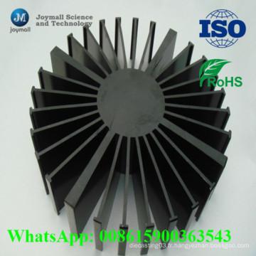 Dissipateur de chaleur en aluminium à LED