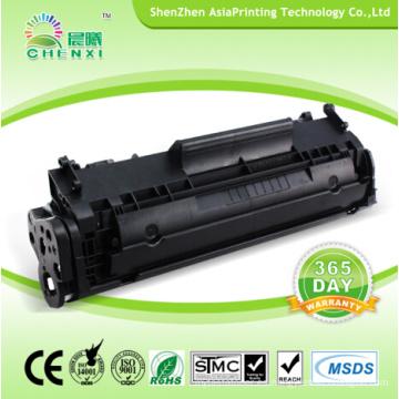 Cartucho de tóner láser compatible con proveedores de Shenzhen para HP 2612A