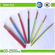 Proveedor aéreo del cable del paquete del conductor de aluminio de 0.6 / 1kv en China