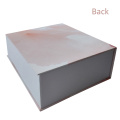 Pink Color Hot Stamp Cosmetic Paper Box