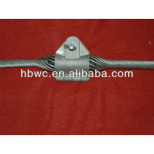 power line fitting preformed suspension clamp