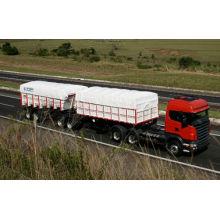 Cubierta impermeable Tb3337 del camión de la lona del PVC