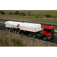 Waterproof PVC Tarpaulin Truck Cover Tb3337