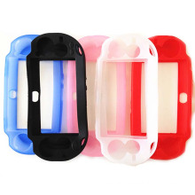 Multi-colors Soft Gel Rubber Skin Silicon Case For Sony For PSV 1000 PS Vita PSVita 1000