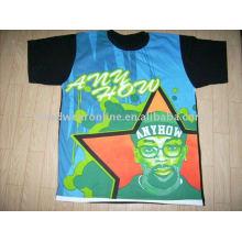 2011 novas camisas estilo t com transferência de calor
