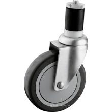 Ruedas para ruedas de servicio mediano de 5 pulgadas de la PU