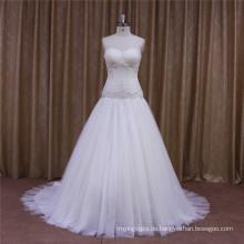 Chinesische Beacutiful Real Samples Hochzeitskleid hohe Qualität