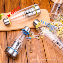 Infusor de té Botellas de agua potable con filtro