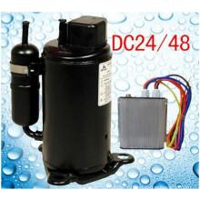 R134a dc ac compressor for portable car air conditioner BOYONG