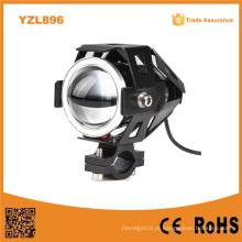 U7 12V 1500lm 6000k Luzes do farol da motocicleta do diodo emissor de luz
