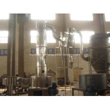 secador rápido rotatorio de alta velocidad de la máquina blanca del secador del titanio del material químico