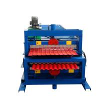 rússia tipo xinnuo c10 + c21 dupla camada telha que faz a máquina