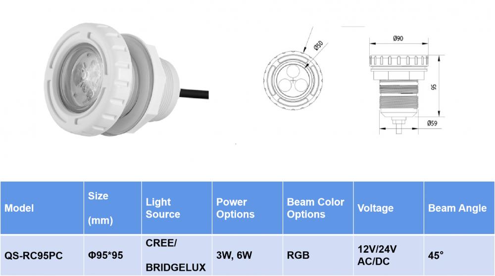 Recessed led pool lighting1