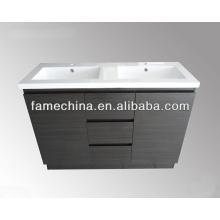 2013 White High Gloss Traditional Bathroom Vanity Units