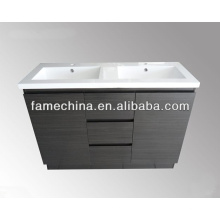 2013 Unidades de vaidade de banheiro tradicionais de alto brilho branco