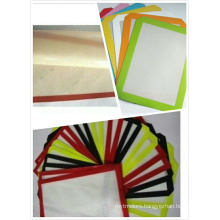 Silicone rubber fabric mat