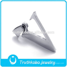 Lettre initiale v design pendentif de haute qualité coupe métal argent lettre de coupe pendentif bijoux