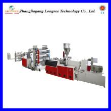 Línea de extrusión de láminas de plástico PVC (0.2-2.0 mm de espesor)