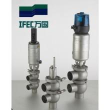 Valve d'inversion pneumatique sanitaire en acier inoxydable (IFEC-PR100001)