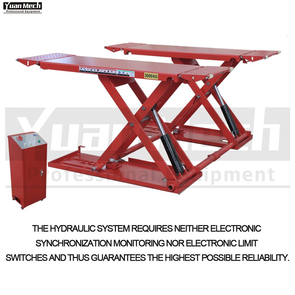 mid rise lift hydraulic system